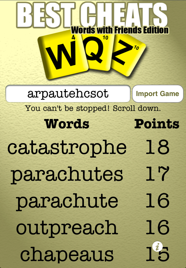 Best cheats for word games get even better prMac